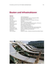 Bauten und Infrastrukturen