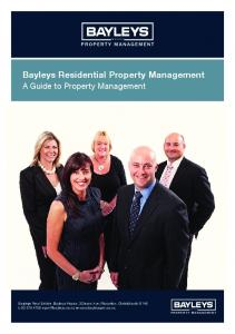 Bayleys Residential Property Management