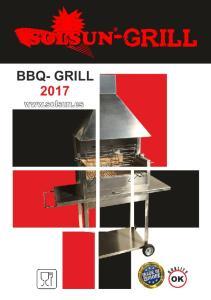 BBQ- GRILL daimiel.com