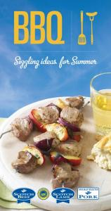 BBQ. Sizzling ideas for Summer