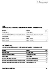 BCS MOTORES DE CORRIENTE CONTINUA DE IMANES PERMANENTES
