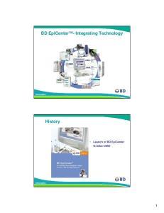 BD EpiCenter - Integrating Technology