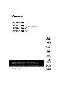 BDP-450 BDP-150 BDP-150-K BDP-150-S