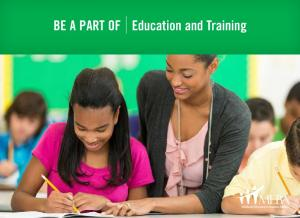 Be a Part of Education and Training