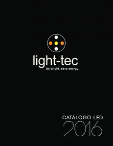 be bright. save energ be bright. save energy. Catalogo led