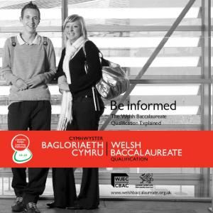 Be informed The Welsh Baccalaureate Qualification Explained