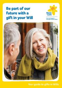 Be part of our future with a gift in your Will