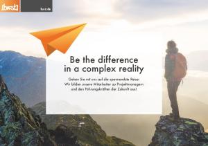 Be the difference in a complex reality