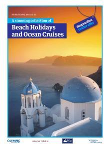 Beach Holidays and Ocean Cruises