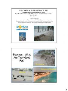 Beaches: What Are They Good For?