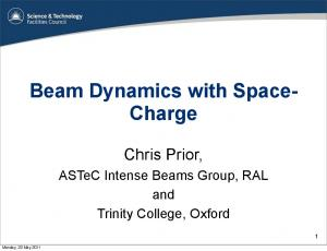 Beam Dynamics with Space- Charge
