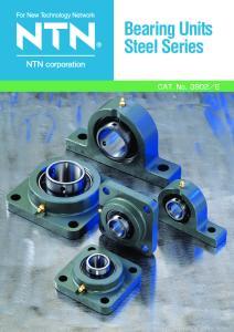 Bearing Units Steel Series