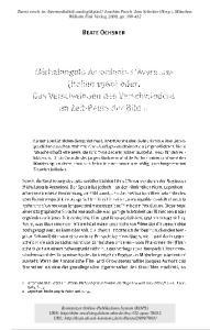 BEATE OCHSNER. 2 Leprohon: Michelangelo Antonioni, S. 54