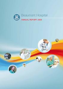 Beaumont Hospital. Annual Report 2009