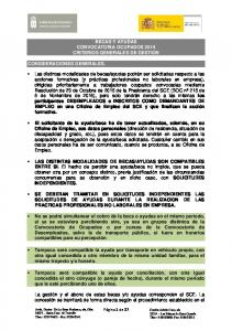 BECAS Y AYUDAS CONVOCATORIA OCUPADOS 2015 CRITERIOS GENERALES DE GESTION