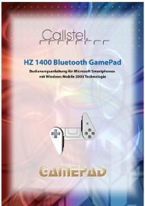 Bedienung des GamePad HZ 1400