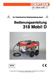 Bedienungsanleitung 318 Mobil D