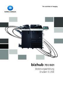 Bedienungsanleitung Drucken IC-208