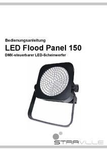 Bedienungsanleitung. LED Flood Panel 150. DMX-steuerbarer LED-Scheinwerfer
