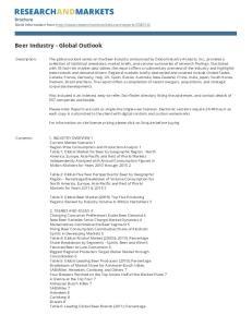 Beer Industry - Global Outlook