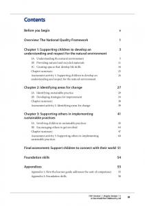 Before you begin. Overview: The National Quality Framework 1
