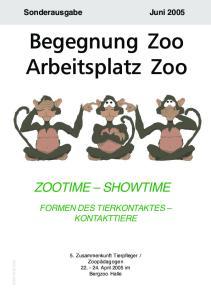 Begegnung Zoo Arbeitsplatz Zoo