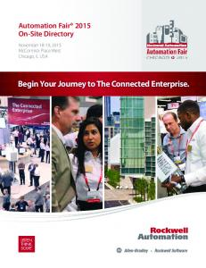 Begin Your Journey to The Connected Enterprise