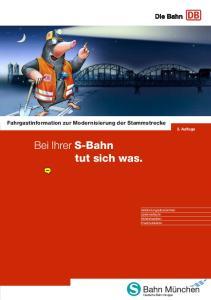 Bei Ihrer S-Bahn tut sich was