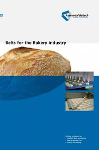 Belts for the Bakery industry