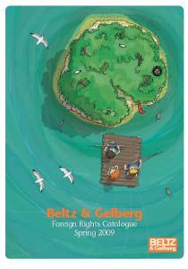 Beltz & Gelberg Foreign Rights Catalogue Spring 2009