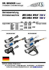 beluga wx2 230 V beluga wx8 400 V