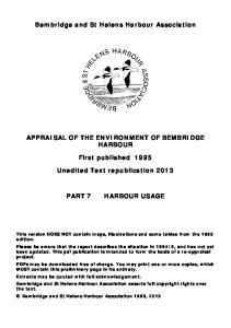 Bembridge and St Helens Harbour Association