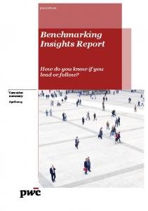 Benchmarking Insights Report