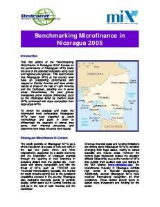 Benchmarking Microfinance in Nicaragua 2005