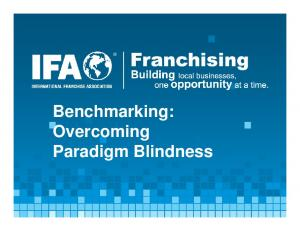 Benchmarking: Overcoming Paradigm Blindness