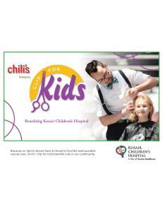 Benefiting Kosair Children s Hospital