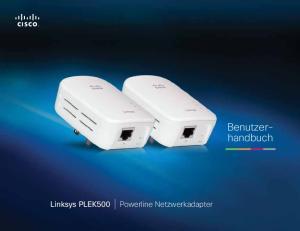 Benutzerhandbuch. Linksys PLEK500. Powerline Netzwerkadapter