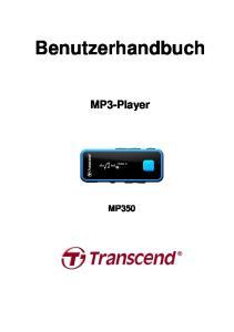Benutzerhandbuch. MP3-Player MP350