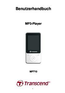 Benutzerhandbuch. MP3-Player MP710