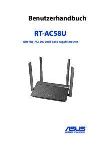 Benutzerhandbuch RT-AC58U. Wireless-AC1300 Dual Band Gigabit Router