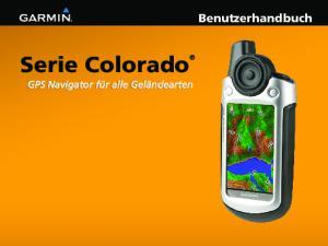 Benutzerhandbuch Serie Colorado