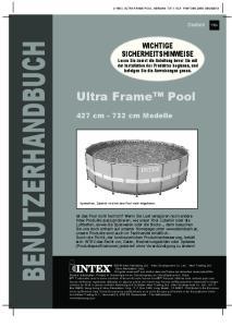 BENUTZERHANDBUCH. Ultra Frame Pool