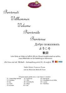 Benvenuti Willkommen Welcome Bienvenido Bienvenue