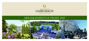 BERG- & JAGDHOTEL ARRANGEMENTS & PREISE 2017
