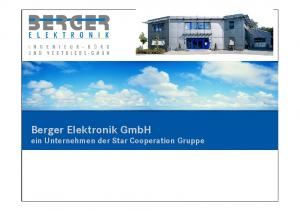 Berger Elektronik GmbH