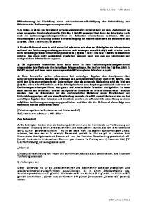 Berichtigung der Unterrichtung des Betriebsrats im Zustimmungsersetzungsverfahren