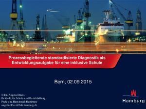 Bern, Prozessbegleitende standardisierte Diagnostik als Entwicklungsaufgabe für eine inklusive Schule