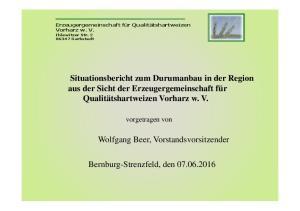 Bernburg-Strenzfeld, den