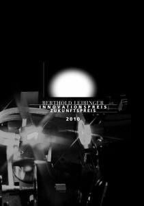 BERTHOLD LEI BINGER INNOVATIONSPREIS ZUKUNFTSPREIS