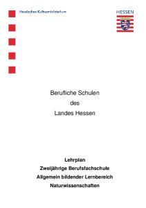 Berufliche Schulen des Landes Hessen